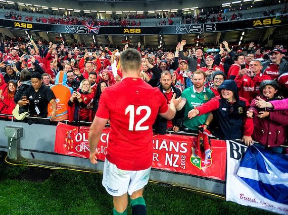 Owen Farrell thanks British and Irish Lions fans
