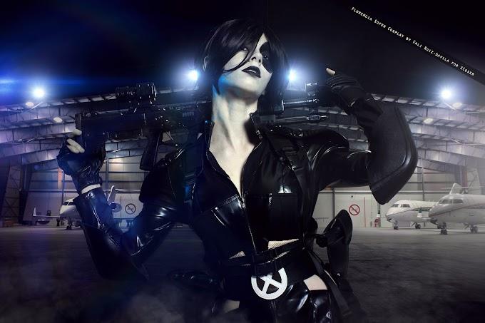 Florencia Sofen con cosplay de Domino