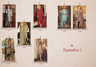 Deepsy Ramsha 2 Georgette Embroidered pakistani Suits