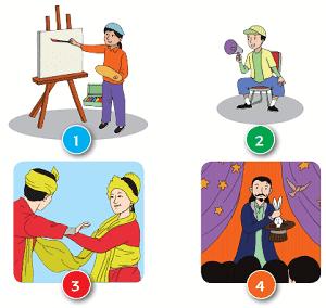 Kunci Jawaban Tema 6 Kelas 1 Halaman 76
