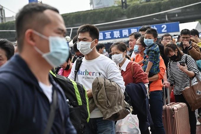 NOVOS CASOS: Crescem casos importados da Covid-19 na China, que teme nova onda de infecções.