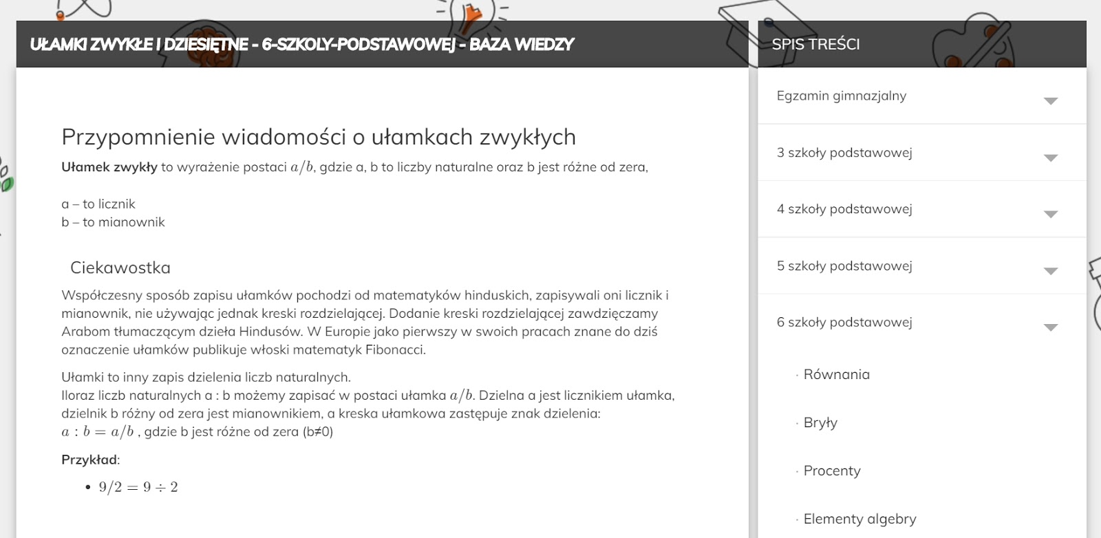 platforma odrabiamy.pl