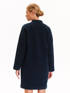Palton Top Secret S031623 DarkBlue