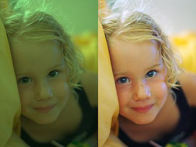 ISO balacens blanco fotografía