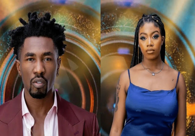 #BBnaija I am not your mate, Its because we are under the same roof- Boma Slams angel as she burst in tears (Video)