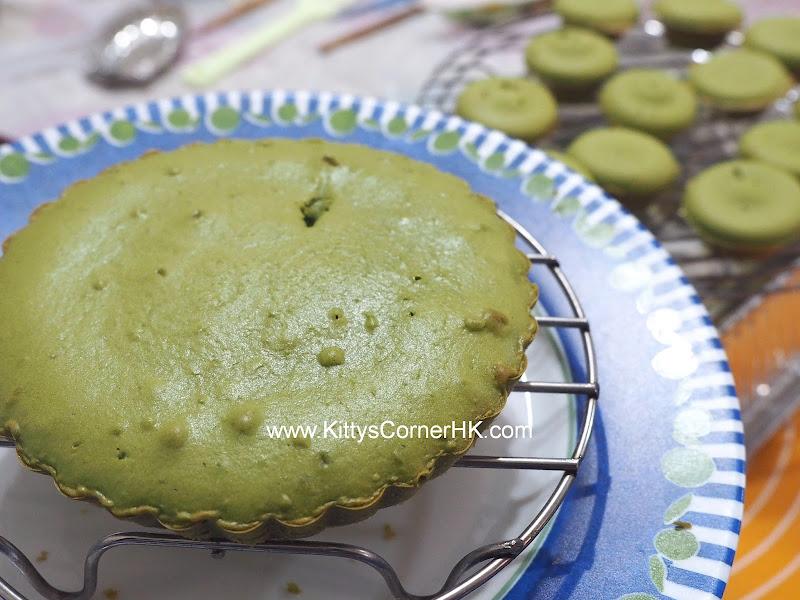 Green Tea Cake DIY recipe 抹茶蛋糕 自家烘焙食譜