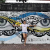 Bacolod artists creates an Instagrammable wall along Lacson St.