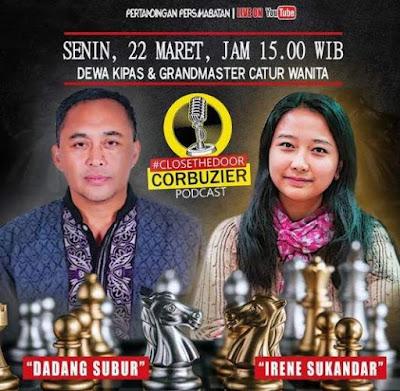 Dewa kipas vs GM Irene Sukandar