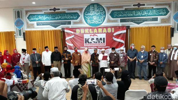 Din Syamsuddin-Gatot Nurmantyo Hadiri Deklarasi KAMI di Yogya