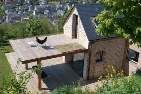 Una piccola casa sostenibile in normandia blog di for Progetto casa piccola