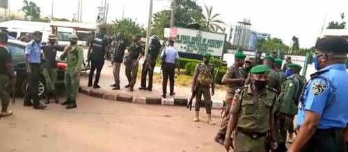 Police Take Over Edo House Of Assembly Complex