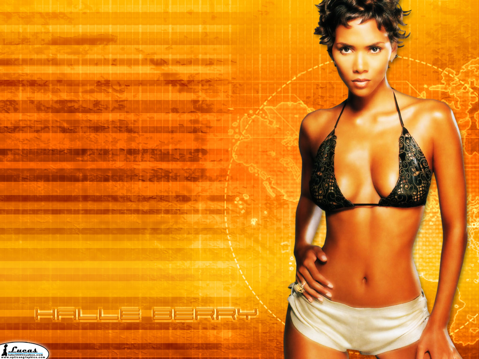 Girls Breast Wallpaper Halle Berry Halle Berry Hot Wallpapers