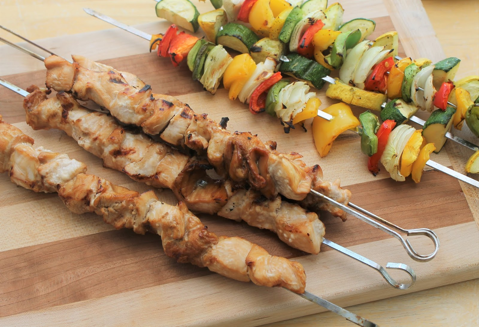 Teriyaki Chicken Kabobs Sew Simple Home