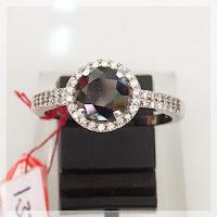 CINCIN PERAK BLACK DIAMON