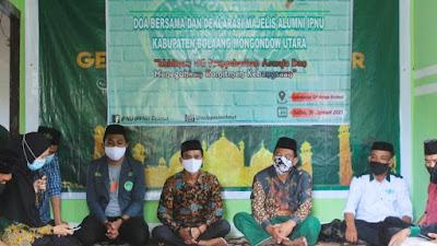 Pelajar NU Bolmut Gelar Doa Bersama dan Deklarasi Majelis Alumni IPNU