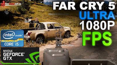 Far Cry 5 Benchmark: GTX 1050 TI 4GB - i5 6600 - ULTRA 1080P