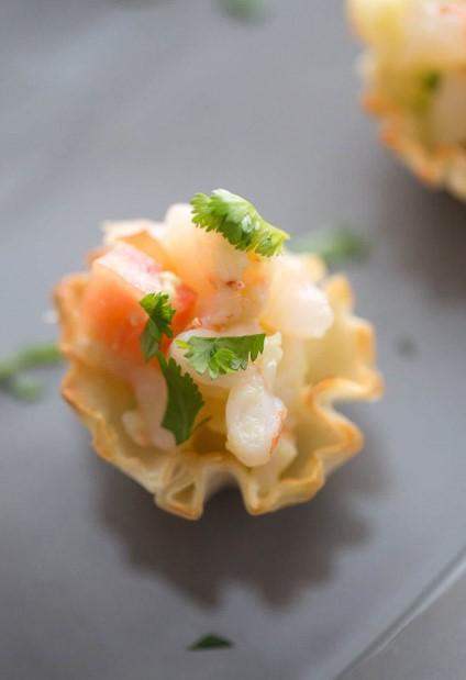 Shrimp Ceviche Bites