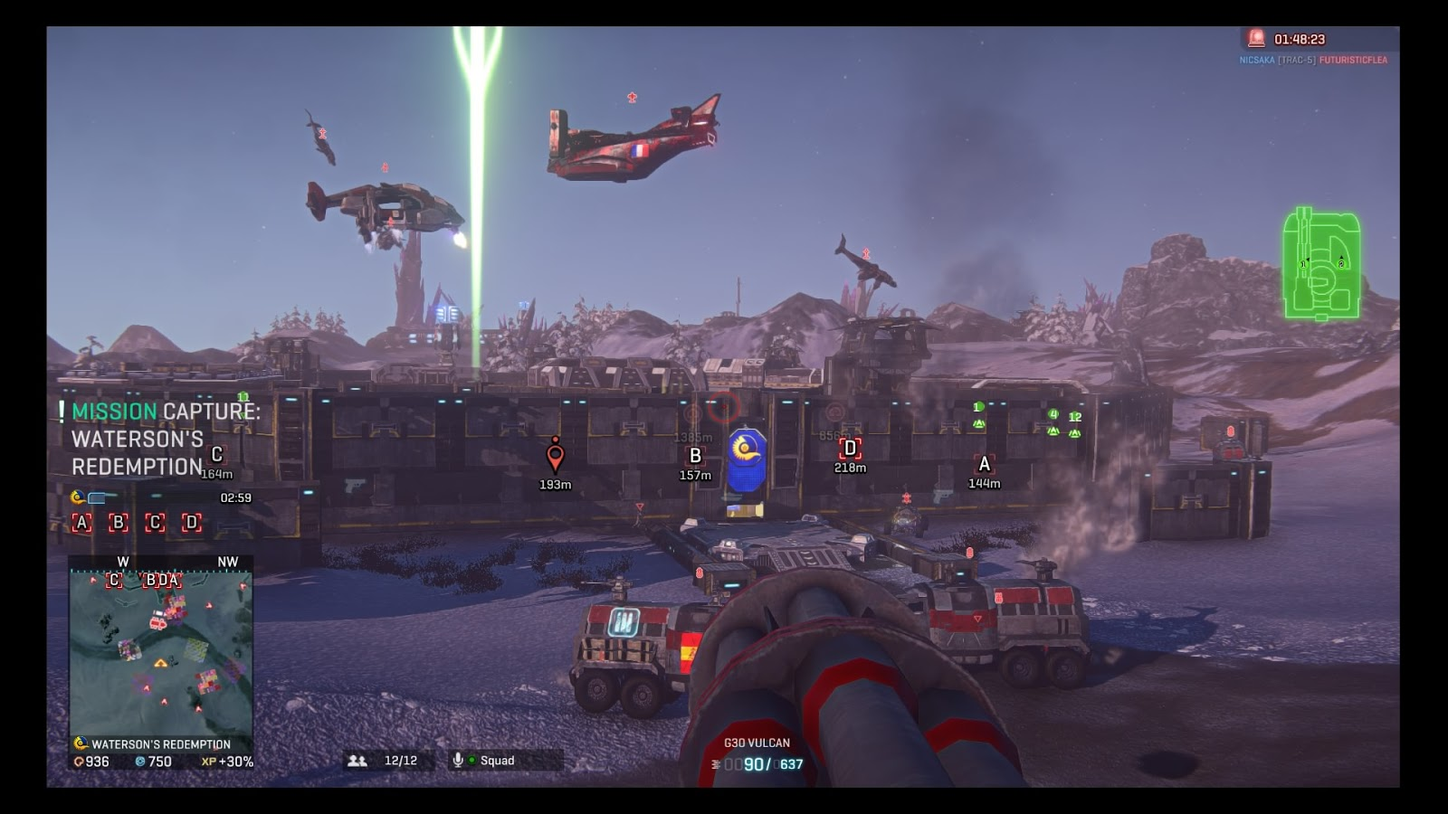 planetside 2 on ps4 review and first impressions ergonomictoolbox com