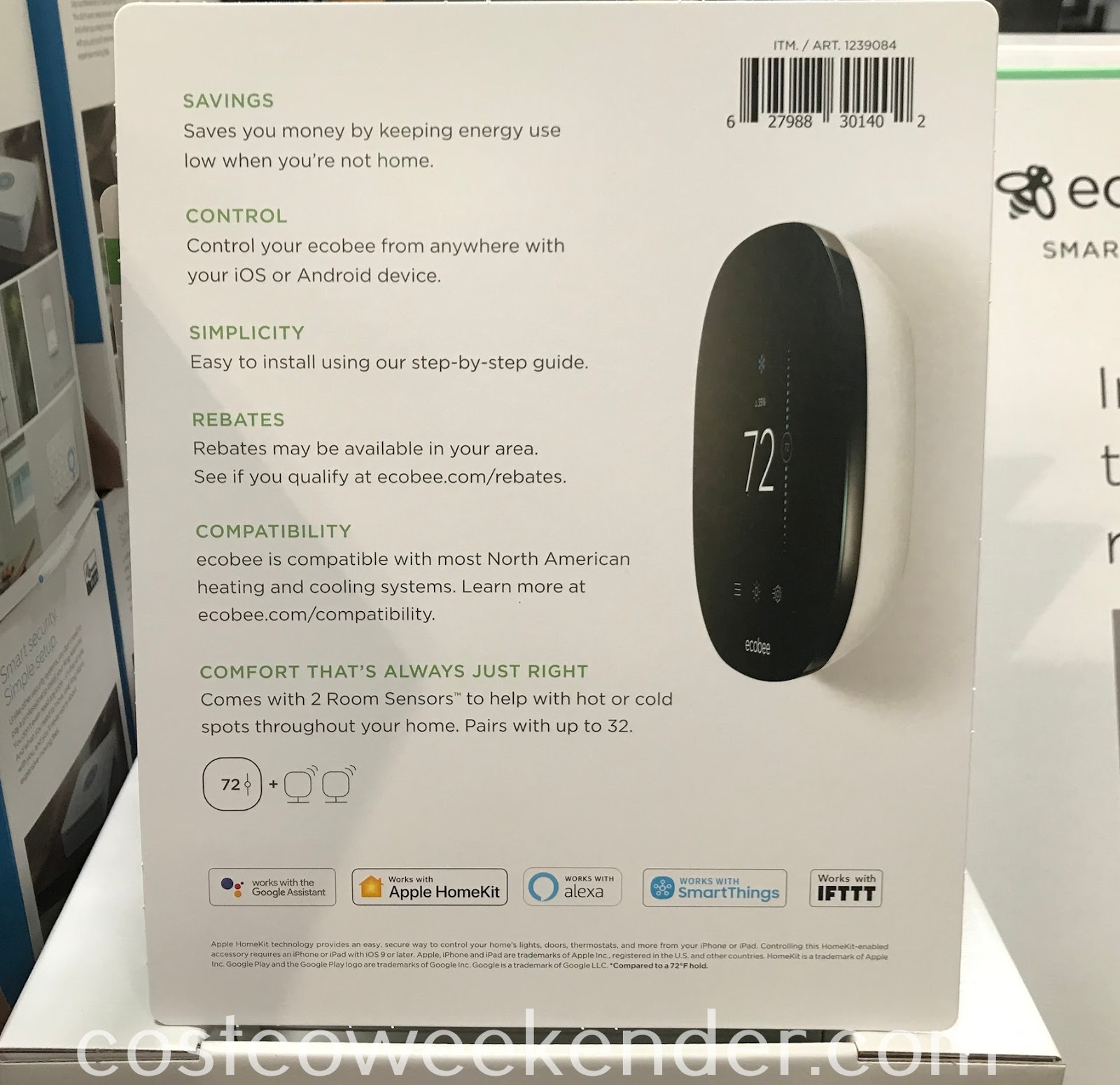 ecobee3 lite Smart Thermostat: great for any home