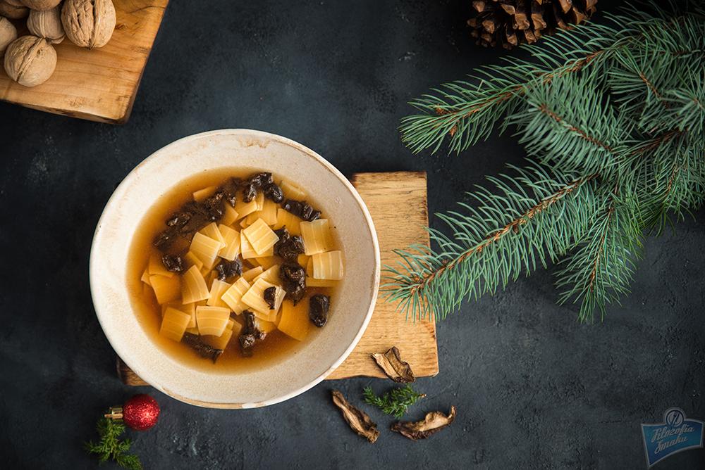 Zupa z suszonych grzybów przepis
