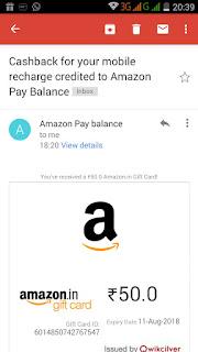 amazon 100% cashback proof