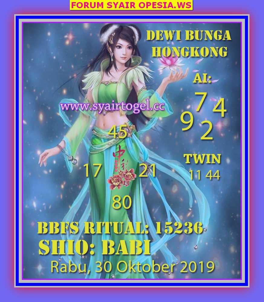 Kode syair Hongkong Rabu 30 Oktober 2019 43