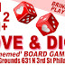SUN FEB 2: Love And Dice! Love-Themed Board Game Day at Higher Grounds in Philadelphia