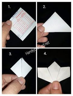 Cara bikin bunga dari kertas dengan gambar