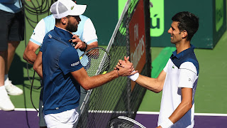Djokovic upset in Miami