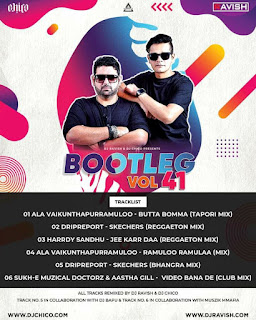 BOOTLEG VOL 41 (ALBUM) - DJ RAVISH X DJ CHICO