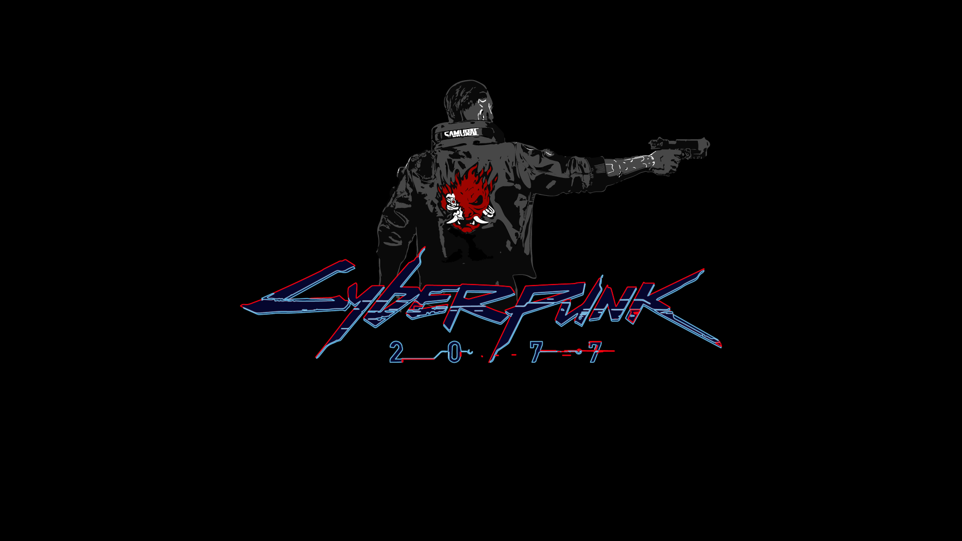 cyberpunk 2077 vi gun wallpaper for desktop laptop pc gamer 4k