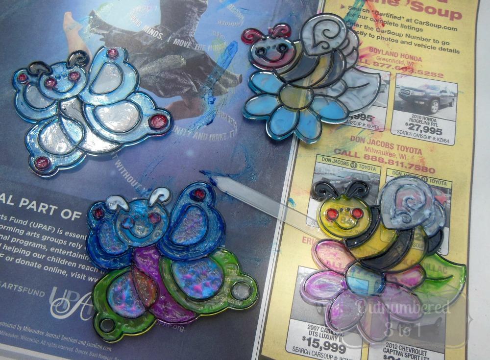 Can You Use Regular Craft Paint On Kids Sun Catchers