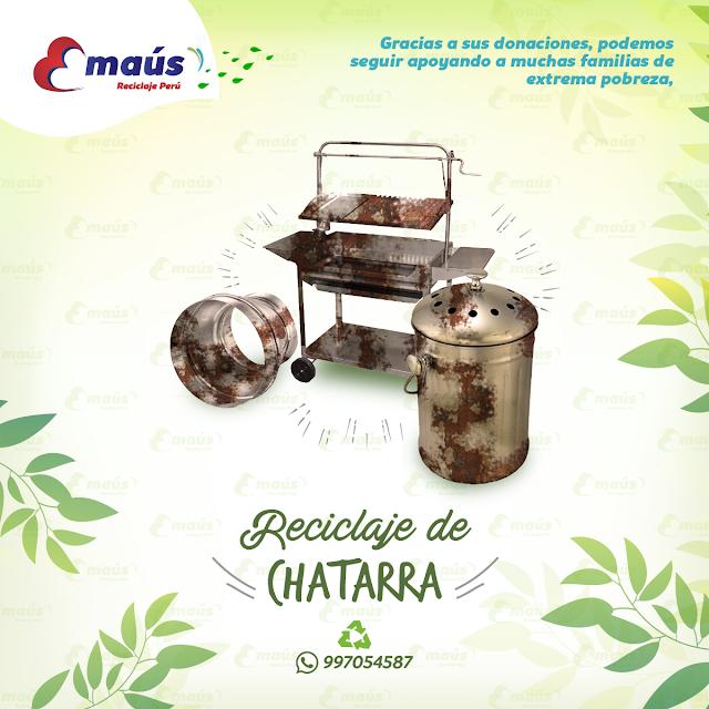 Reciclaje de Chatarra - Emaús Reciclaje Perú