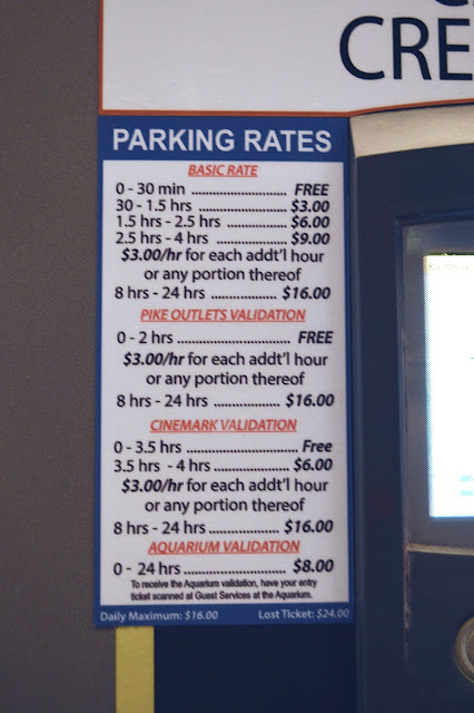 the pike long beach parking rates