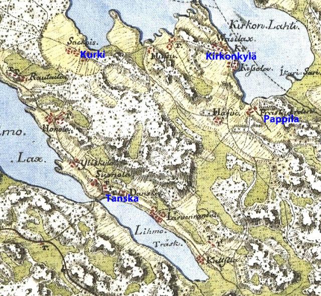 Euran Kartta