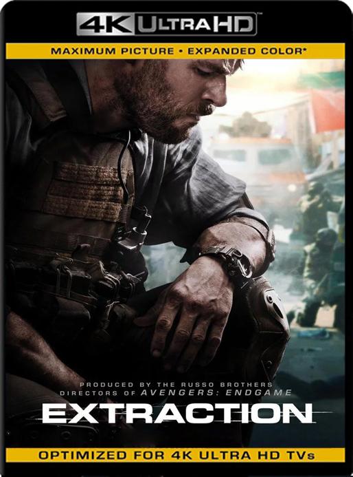 Misión de rescate (Extraction) (2020) 4K 2160p UHD [HDR] Latino [GoogleDrive]