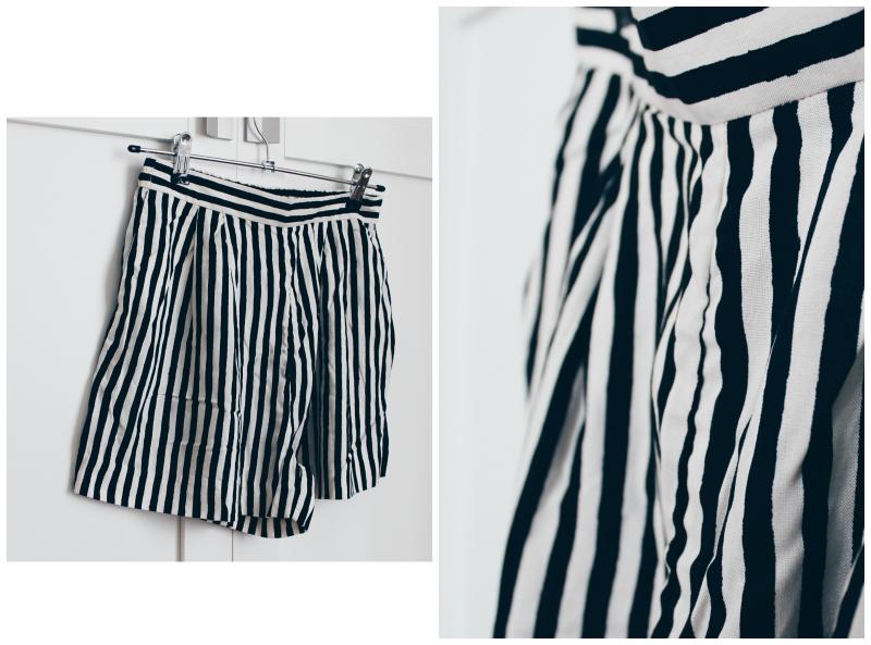short de rayas h&m blog de moda