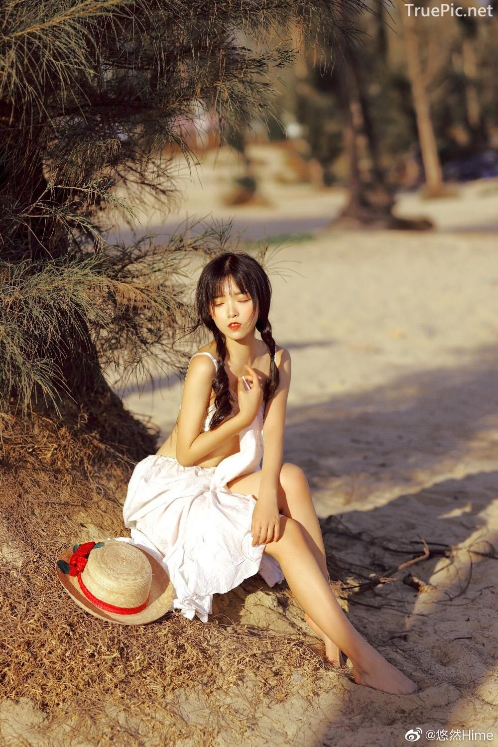 Chinese bautiful angel - Stay with you on a beautiful beach - TruePic.net - Picture 5