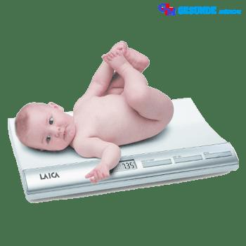 timbangan badan digital Laica khusus bayi