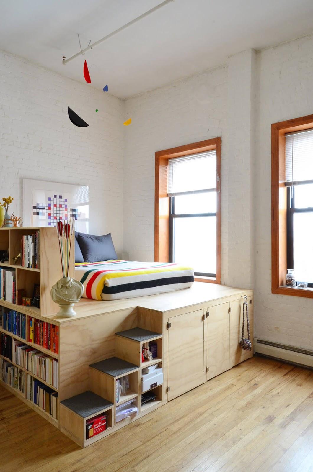 70 desain kamar tidur sempit minimalis sederhana | desainrumahnya