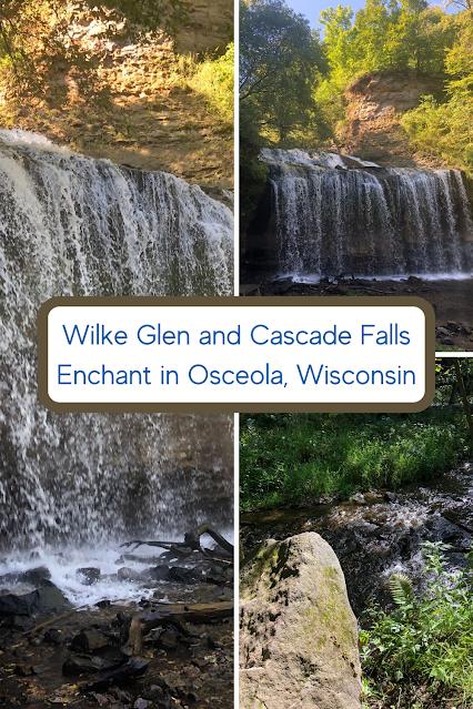 Wilke Glen and Cascade Falls Enchant in Osceola, Wisconsin