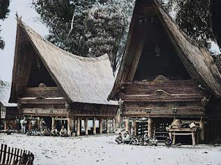 foto lingkungan kehidupan masyarakat batak toba