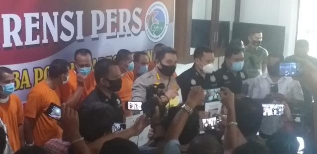 Usai Dugem, Warga Asal Aceh Tenggara Diciduk Polisi