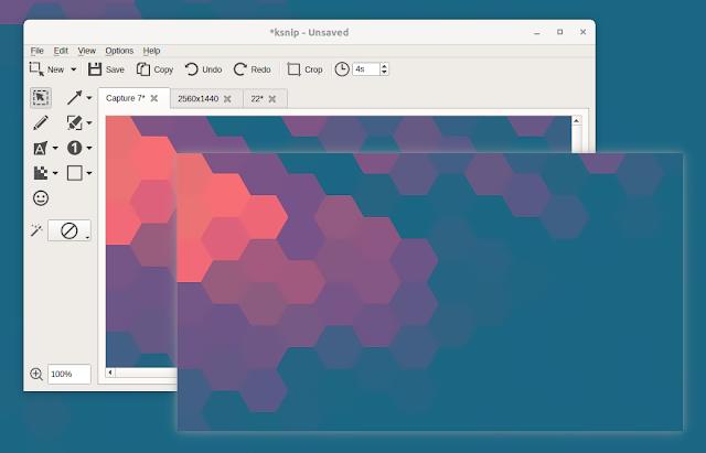 Ksnip pin screenshot window