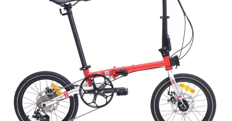 Review Sepeda Lipat Element Troy Terbaru Seri 2020 Gowes Lovers