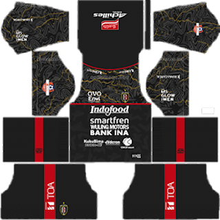 Bali United 2020 - Kit Dream League Soccer 2019