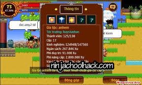 Hack dap do ninja school online