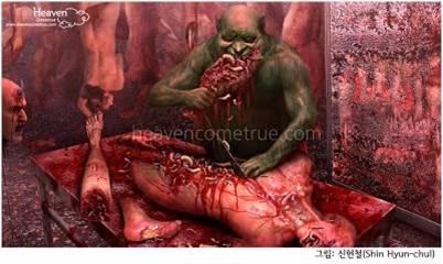 Giải thích sự khủng khiếp của Hỏa Ngục cho những người mù lòa trước sự tồn tại của Satan