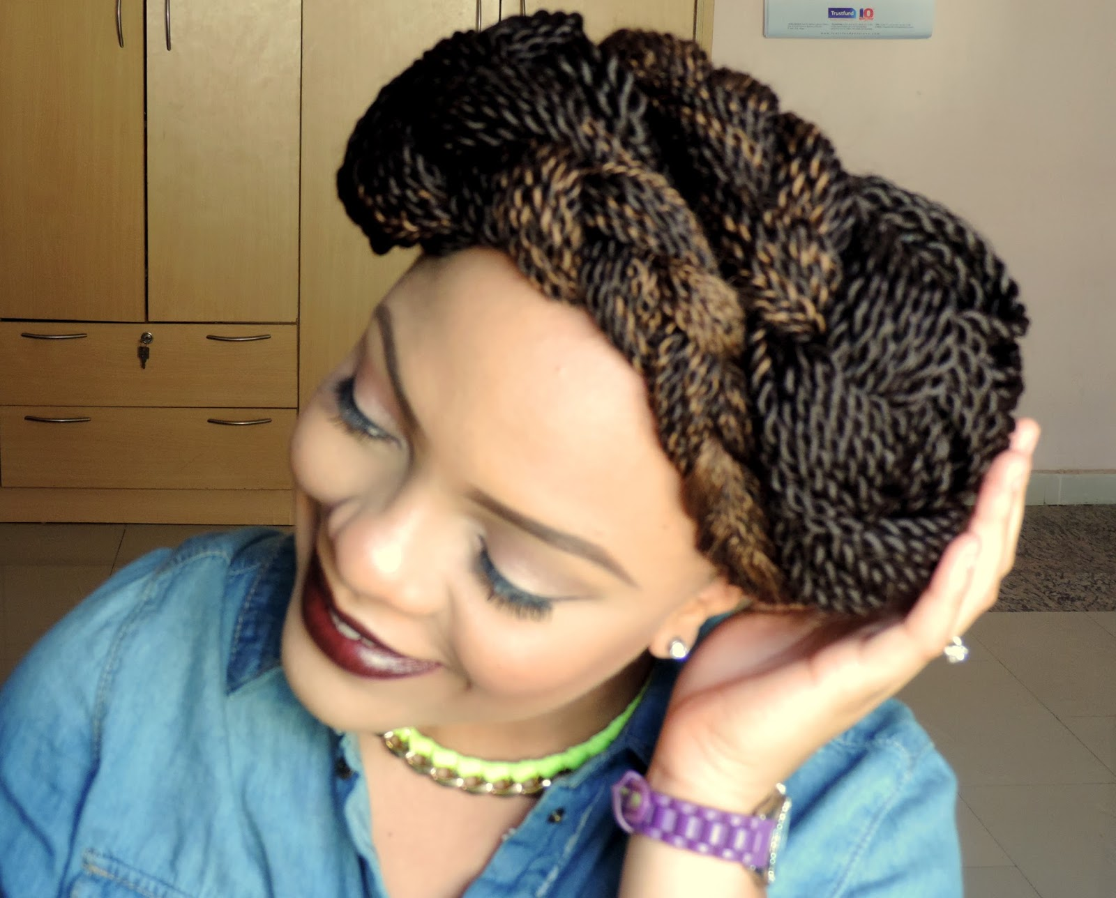 beehive braid tutorial in seven easy steps - the style cheapskate