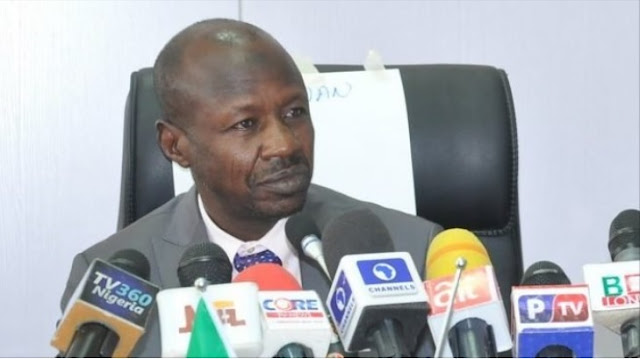 Magu: Alleged cover-up in EFCC as unknown men attack NFIU office, destroy computers